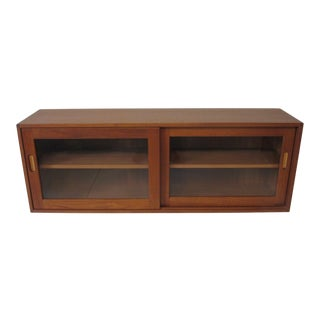 Erik Brouer Danish Teak Hanging Cabinet For Sale
