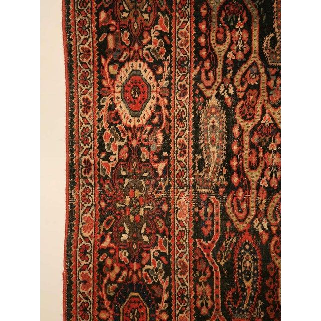 Textile Antique Persian Bidjar Rug - 4′ × 6′4″ For Sale - Image 7 of 10