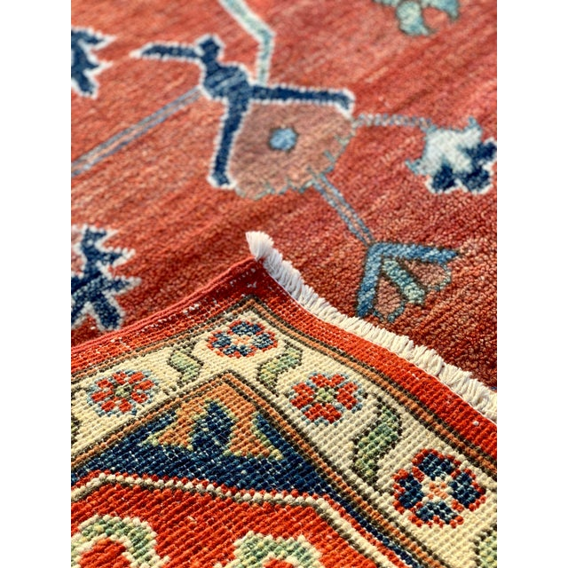 1990s Persian Serapi Rug - 10′ × 13′9″ For Sale - Image 4 of 13