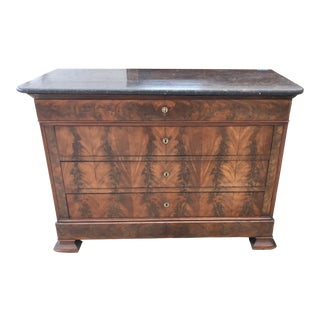 19th Century French Louis Philippe Commode For Sale