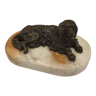 Saint Charles Spaniel Paper Weight For Sale
