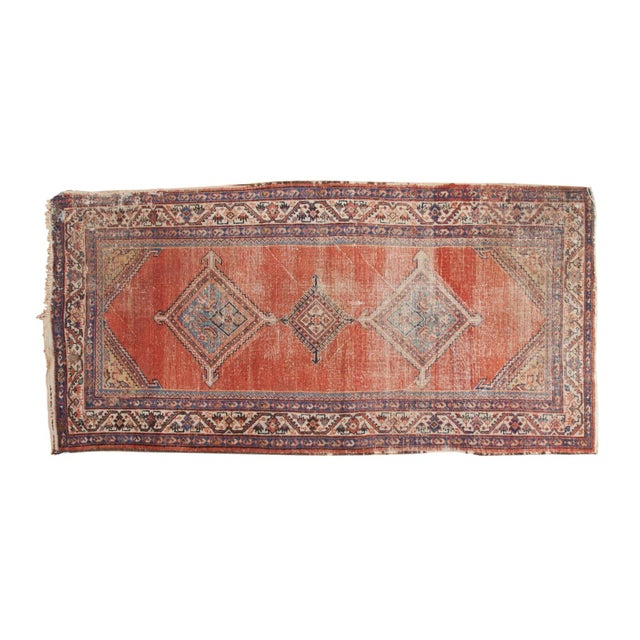 """Antique Malayer Rug Runner - 3'8"""" x 7'6"""" For Sale - Image 13 of 13"""