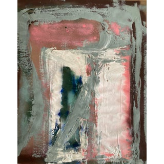 """Acropolis"" Contemporary Abstract Painting on Paper by Erik Sulander For Sale"