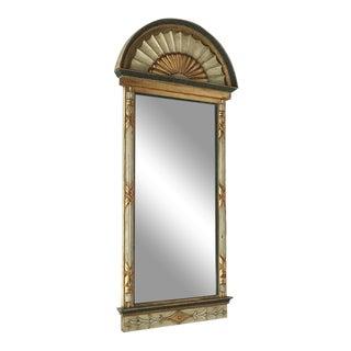 Swedish Empire Pier Mirror Dated Circa 1820 For Sale