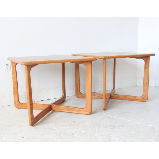 Vintage Mid Century Lane End Tables - Pair - Image 2 of 7