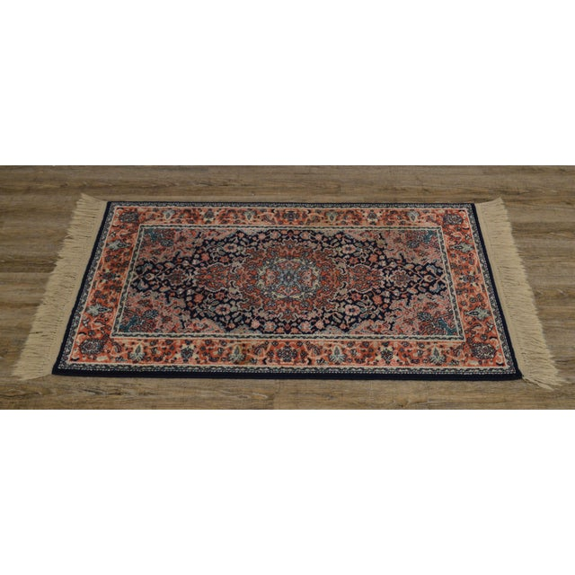 High quality American made wool runner carpet by 'Karastan'.~ Design #741.