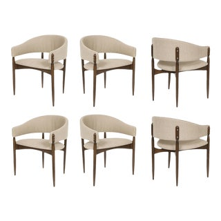 Set of Six Enroth Dining Chairs For Sale