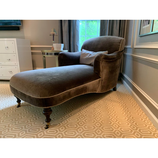 Lee Industries, 3481-21 Chaise. In neutral color. Like new. Pillow is NOT included.