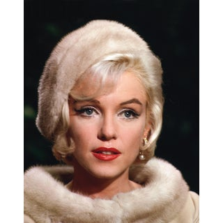 """Marilyn Monroe"" Color Headshot Photograph by Lawrence Schiller, 32/75 For Sale"
