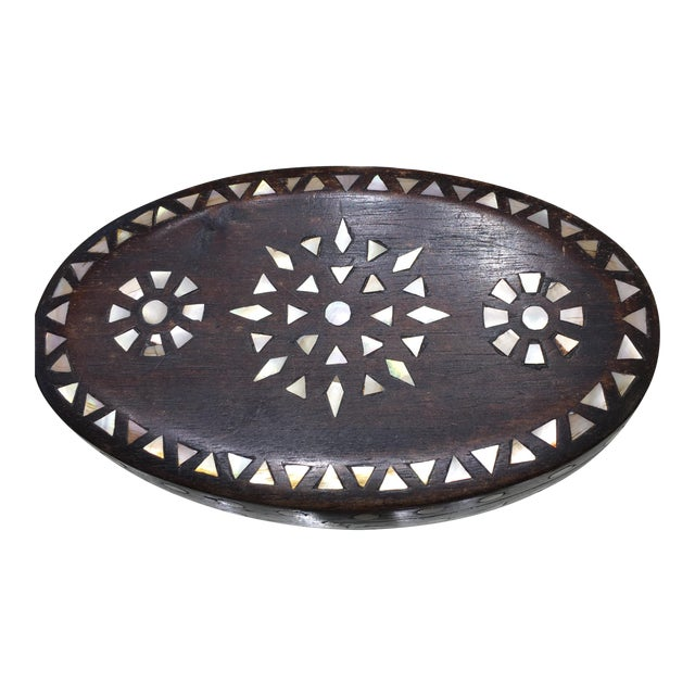 Vintage Moroccan Oval Box - Image 1 of 11