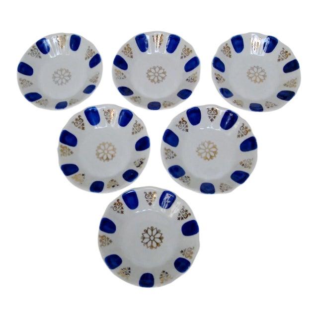 Porcelain Dipping Bowls, Set of 6 For Sale