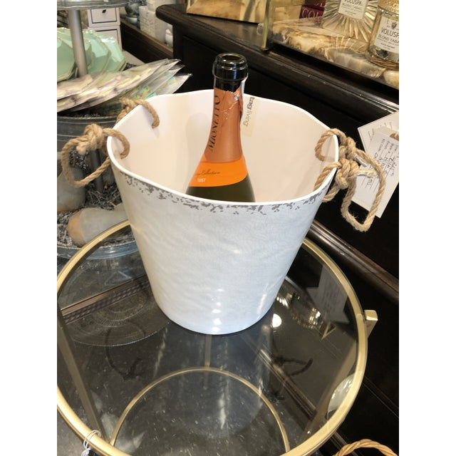 Kenneth Ludwig Chicago Modern Melamine Ice Bucket For Sale - Image 4 of 5