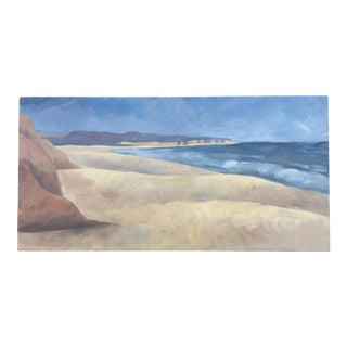 Seascape Acrylic Painting on Canvas For Sale