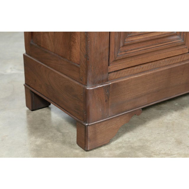 19th Century French Louis Philippe Enfilade Buffet With Bookmatched Front For Sale - Image 9 of 11