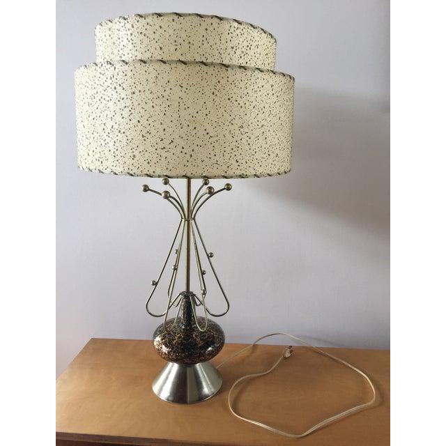 Mid-Century Modern Atomic Age Sputnik Table Lamp For Sale - Image 10 of 10