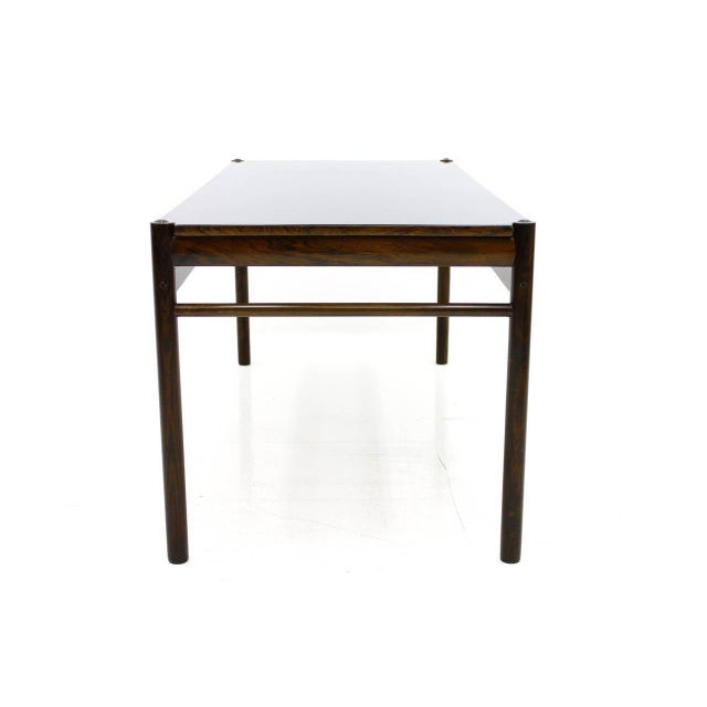 1960s Flip-Top Coffee Table by Ole Wanscher for Jeppesen, Denmark, 1960 For Sale - Image 5 of 8