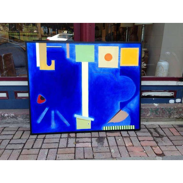 Abstract Painting by Doris Vlasik Hails For Sale - Image 9 of 9