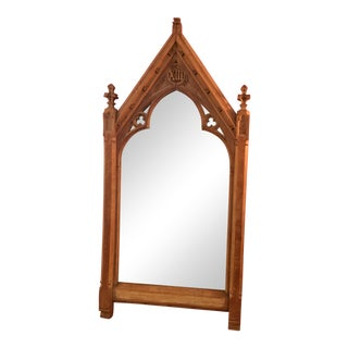 French Neo Gothic Mirror