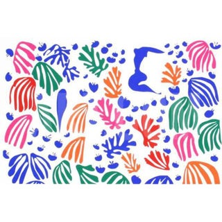 "Henri Matisse ""The Parakeet and the Mermaid"" Serigraph"
