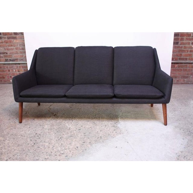 Superior danish modern sofa by erik ostermann and h for Couch ostermann