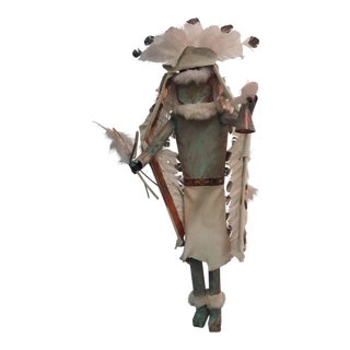 Ahote Warrior Metal Kachina Wall Sculpture
