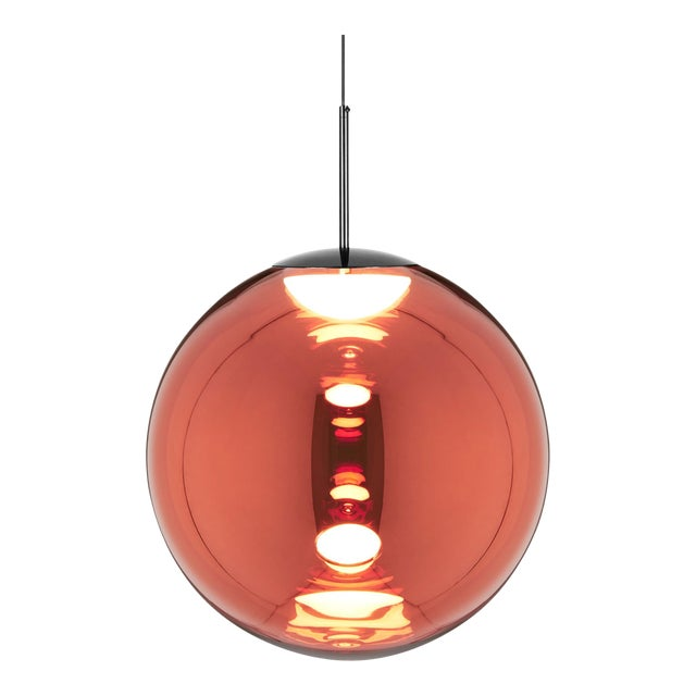 Tom Dixon Globe 50cm Pendant Copper For Sale