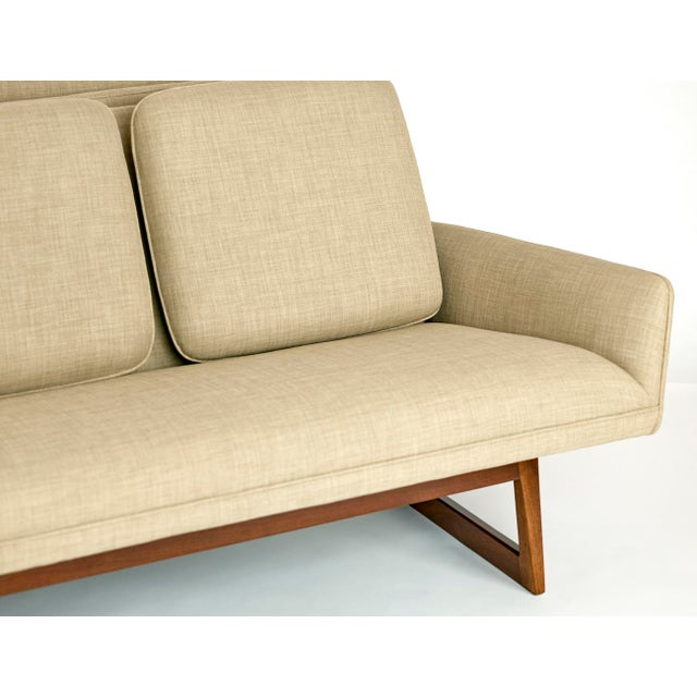 Mid-Century Modern Jens Risom, Pair of Sofas, Circa 1960's For Sale - Image 3 of 10