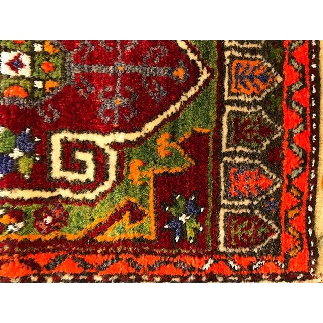 "Vintage Baho Anatolian Turkish Rug - 1'8"" X 4'2"" - Image 3 of 7"