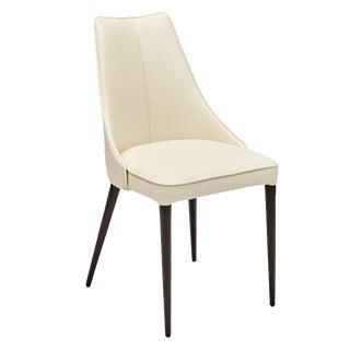 Auwell Chair in White - a Pair For Sale