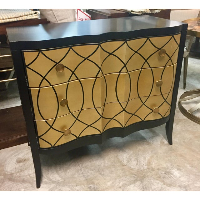 Hollywood Regency Century Candice Olson Chest For Sale - Image 3 of 3