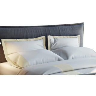 Monte Carlo Banded Pillowcases King - Limestone Preview
