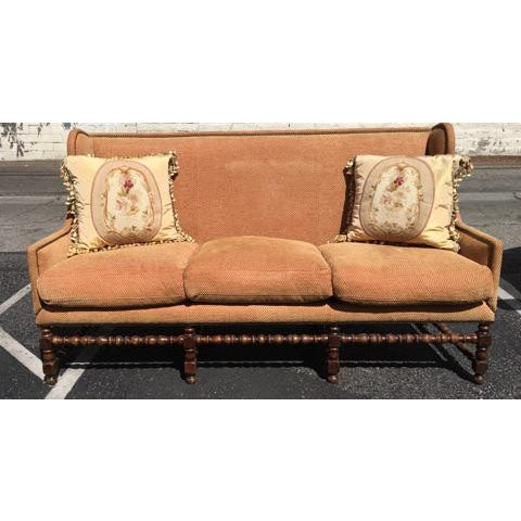Spanish Colonial Style Sofa - Image 1 of 2