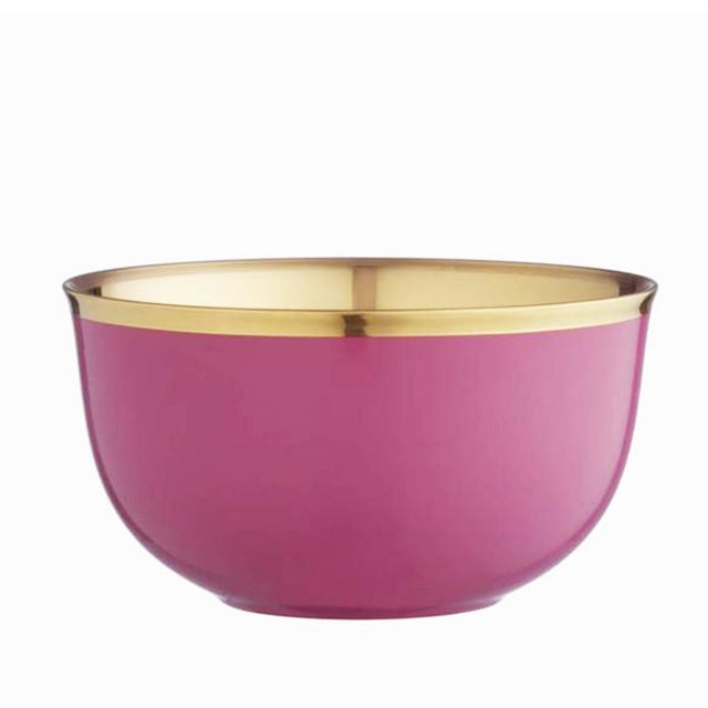 """Delicate Pink Gold """"Schubert"""" Champagne bowls made from pure white porcelain and lined with platinum is a must for every..."""