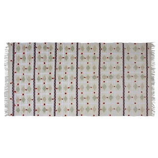 Moroccan Patterned Handira Blanket For Sale