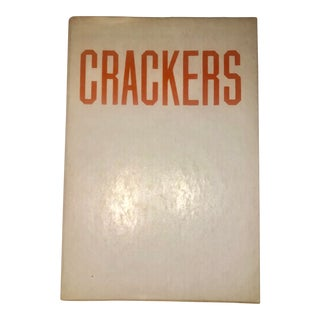 """Ed Ruscha """"Crackers"""" Story by Mason Williams Artist's Book For Sale"""