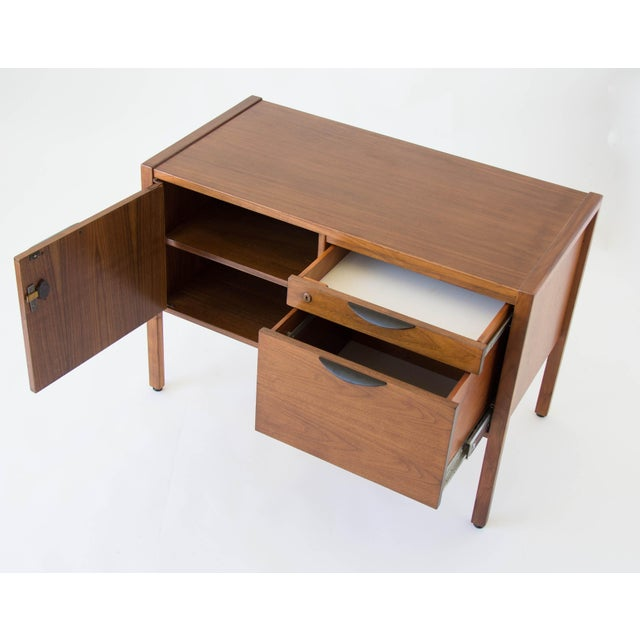 Jens Risom Compact Walnut Credenza - Image 8 of 8