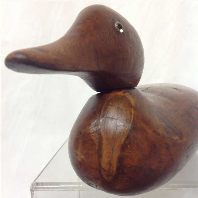 Antique Hand-Carved Duck Decoy - Image 6 of 7