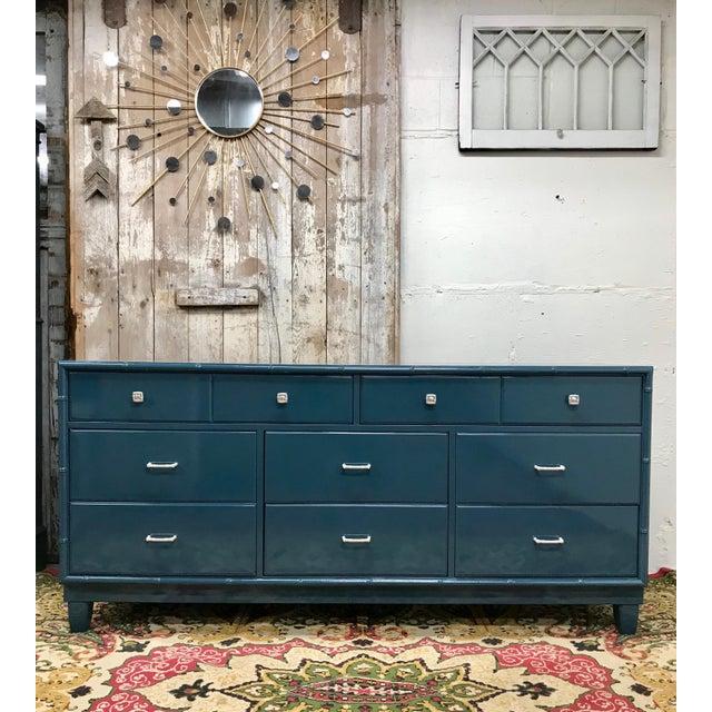 Blue Dresser | High Gloss Blue Dresser - Image 9 of 9