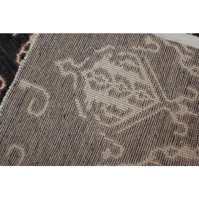 """Modern Hand Knotted Ikat Rug by Aara Rugs Inc. - 9'5"""" X 11'9"""" For Sale - Image 3 of 5"""