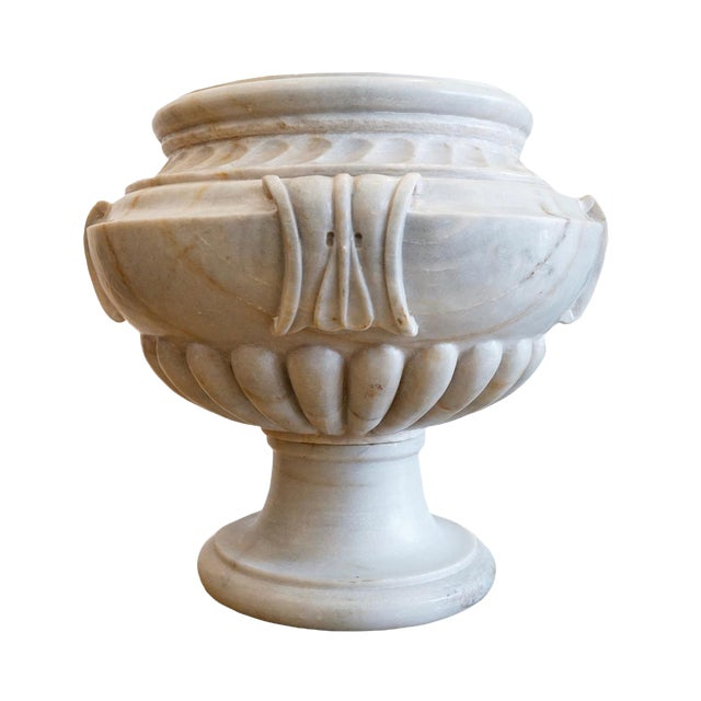 Italian Marble Planter For Sale