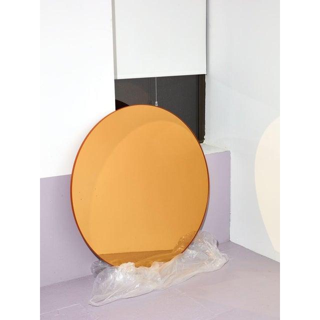 Aytm Medium Black Circum Mirror For Sale - Image 4 of 7