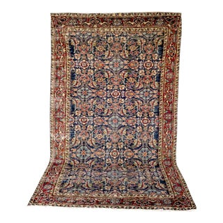 Turkish Melis Semi Antique Rug - 4′7″ × 8′2″