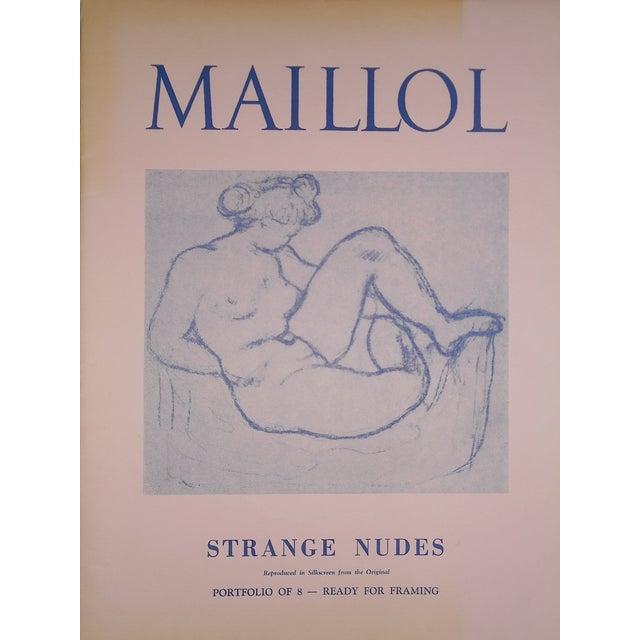 "Vintage Silkscreen Maillol ""Strange Nudes"" Folio - Image 4 of 4"