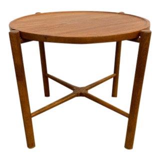 Hans J. Wegner At-35 Andreas Tuck Mid Century Modern Danish Folding Occasional Table For Sale