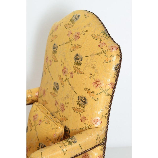 A Early 18th Century Walnut Regence Armchair For Sale - Image 10 of 13
