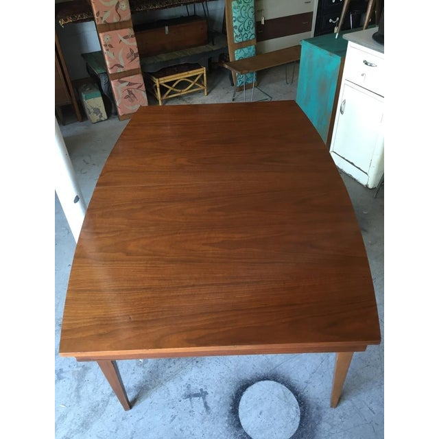Danish Style Mid Century Modern Dining Table - Image 5 of 9