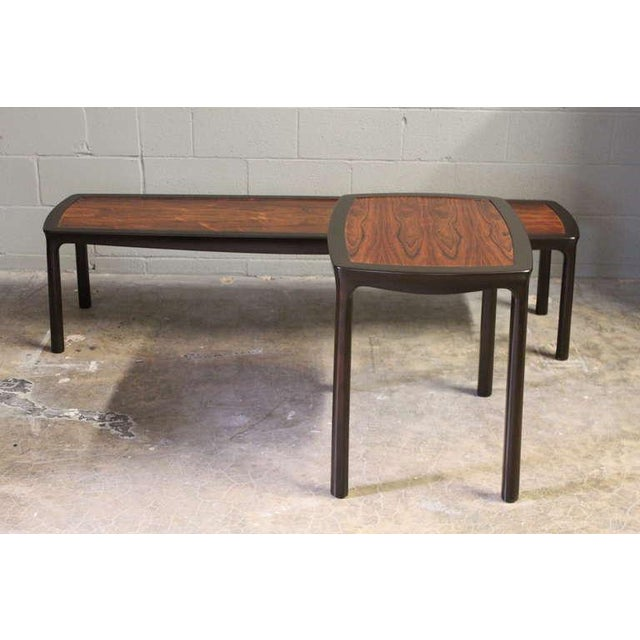Rosewood Coffee Table by Edward Wormley for Dunbar - Image 8 of 10