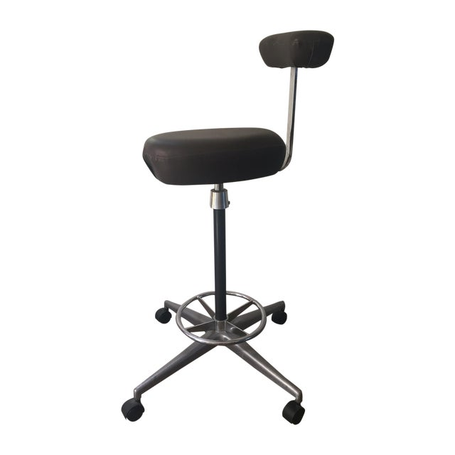 Drafting Stool by George Nelson for Herman Miller For Sale