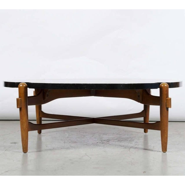 Cut-Out Coffee Table Attributed to Greta Grossman For Sale In Dallas - Image 6 of 7