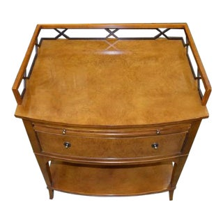 Thomas Pheasant Biedermeier Style Nightstand for Baker Furniture Company 1 of 2 For Sale